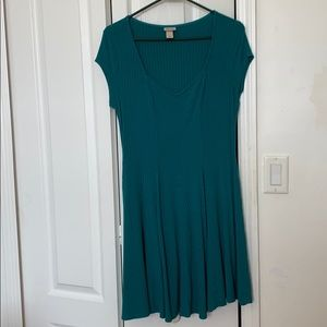 Torqouise casual dress